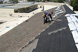 installing composition shingle roof